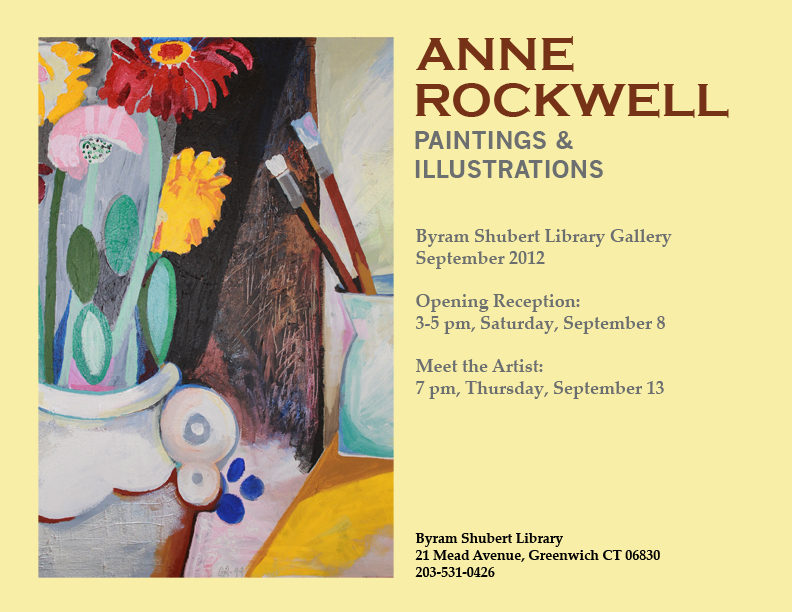 Anne Rockwell Exhibit Poster